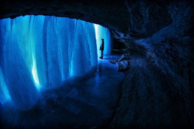 12 imagini incredibile cu cascade inghetate - Poza 2