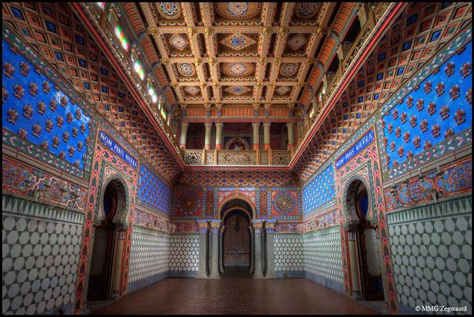 Superbul Castello di Sammezzano - abandonat de 20 de ani - Poza 1