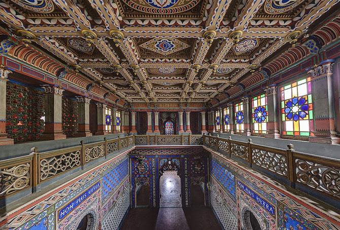 Superbul Castello di Sammezzano - abandonat de 20 de ani - Poza 3