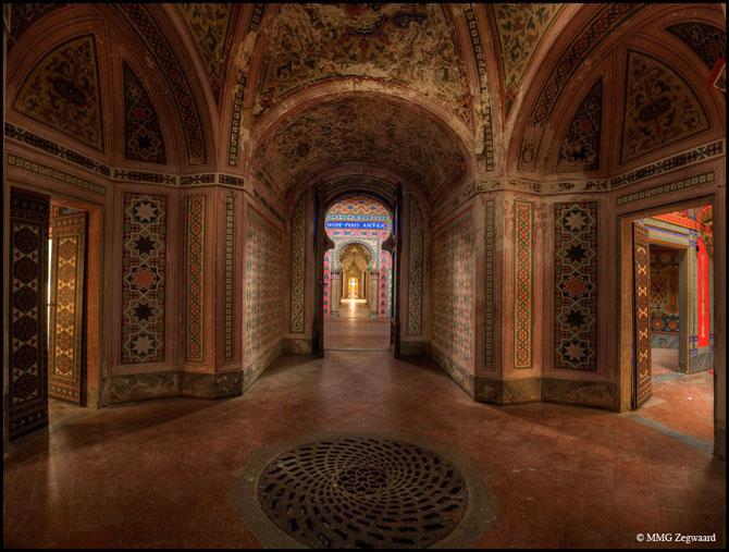 Superbul Castello di Sammezzano - abandonat de 20 de ani - Poza 4