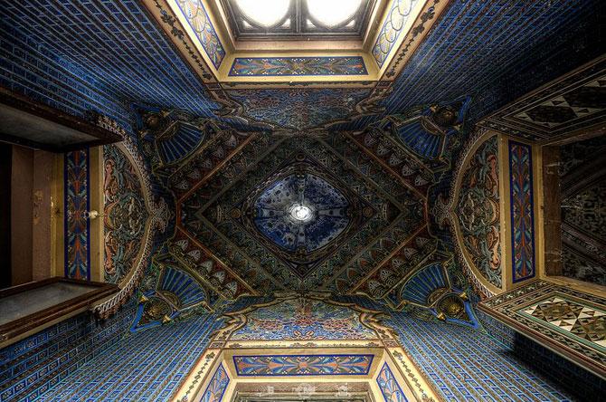 Superbul Castello di Sammezzano - abandonat de 20 de ani - Poza 9