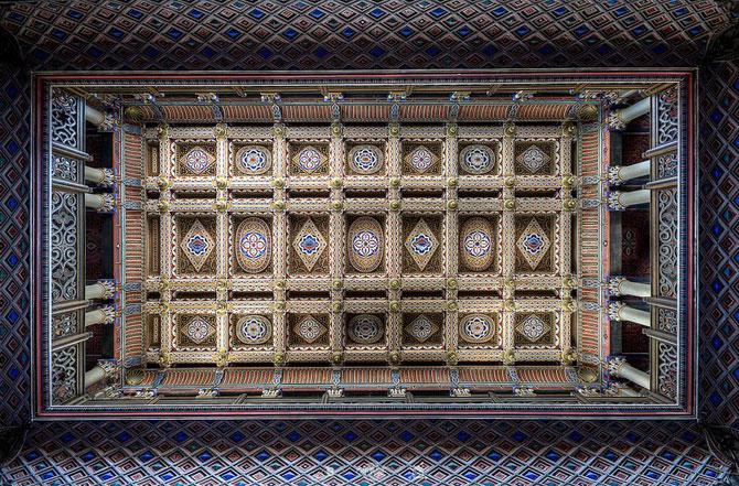Superbul Castello di Sammezzano - abandonat de 20 de ani - Poza 10