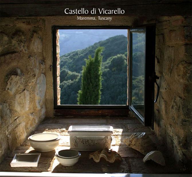 Luxul unui castel toscan 'in varsta' de noua secole - Poza 1