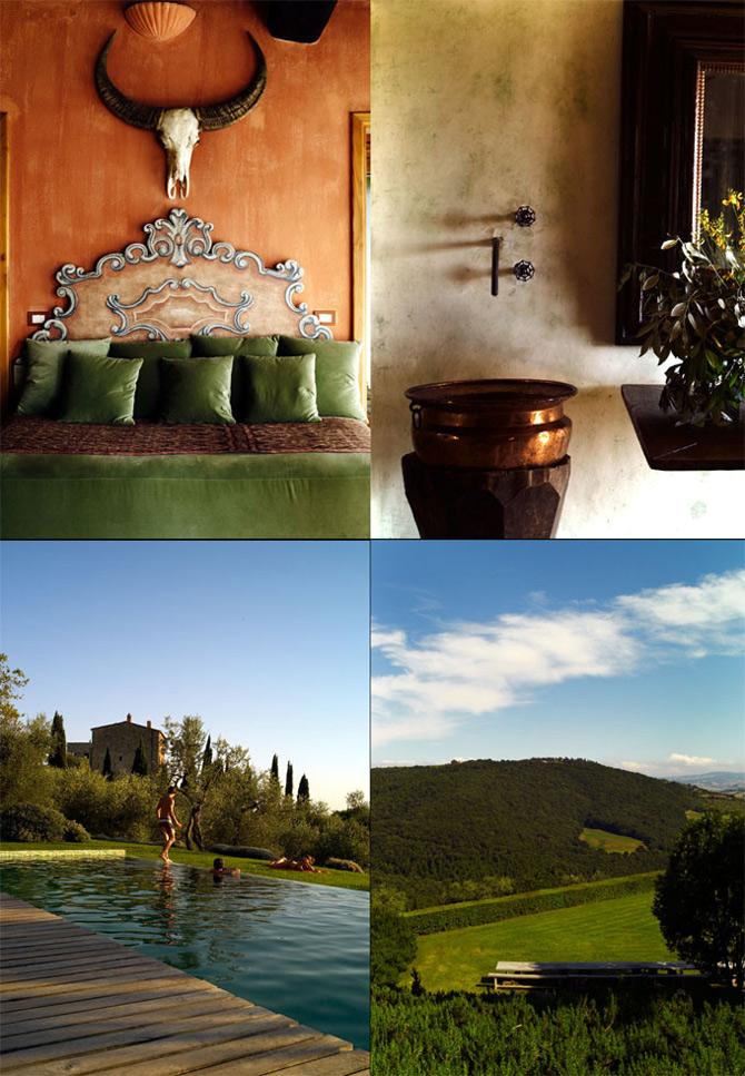 Luxul unui castel toscan 'in varsta' de noua secole - Poza 5
