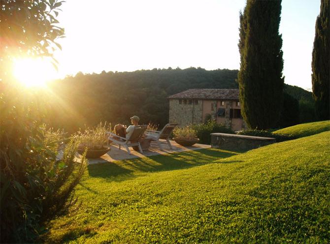 Luxul unui castel toscan 'in varsta' de noua secole - Poza 10