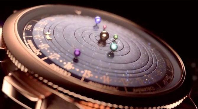 Ceasul cu sistem solar la purtator - Poza 1