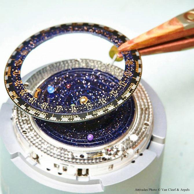 Ceasul cu sistem solar la purtator - Poza 3