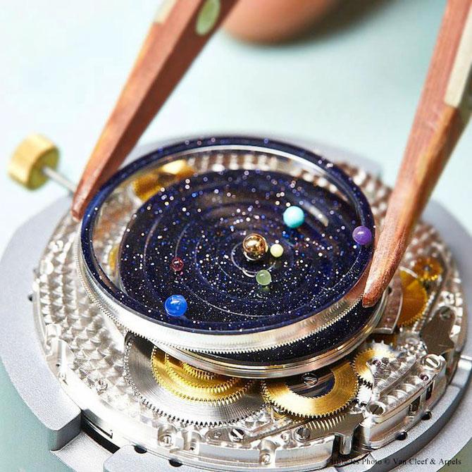 Ceasul cu sistem solar la purtator - Poza 4