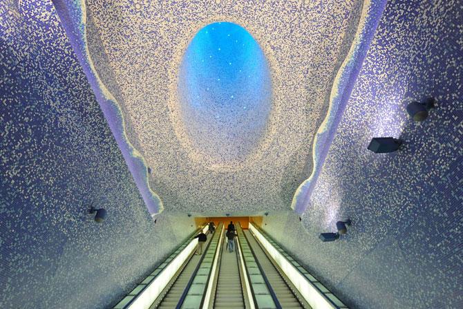 15 statii de metrou incredibile din intreaga lume - Poza 1