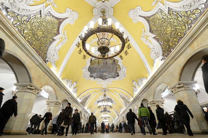 15 statii de metrou incredibile din intreaga lume - Poza 2