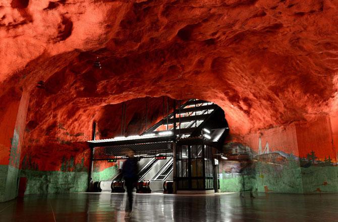 15 statii de metrou incredibile din intreaga lume - Poza 3