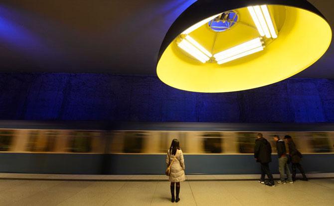 15 statii de metrou incredibile din intreaga lume - Poza 4