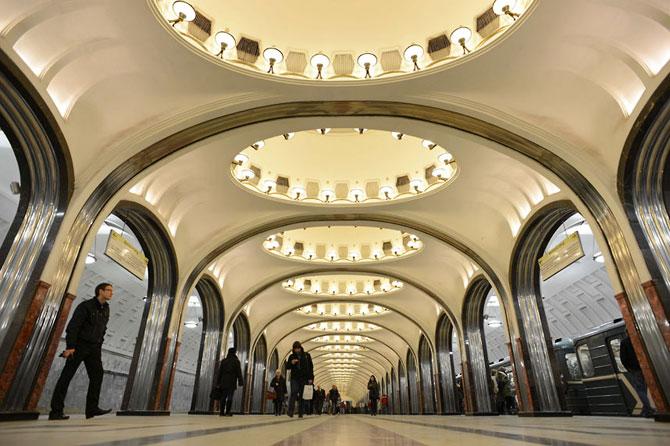 15 statii de metrou incredibile din intreaga lume - Poza 5