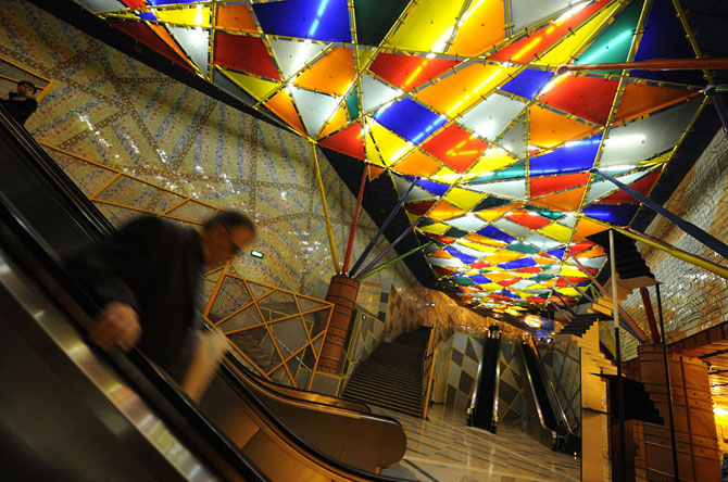 15 statii de metrou incredibile din intreaga lume - Poza 6
