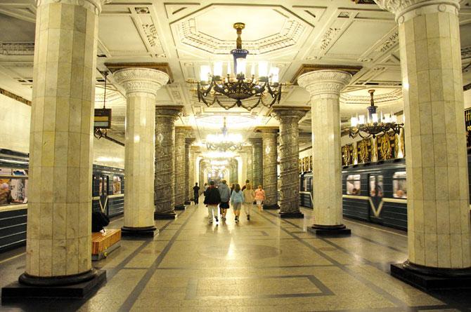 15 statii de metrou incredibile din intreaga lume - Poza 7