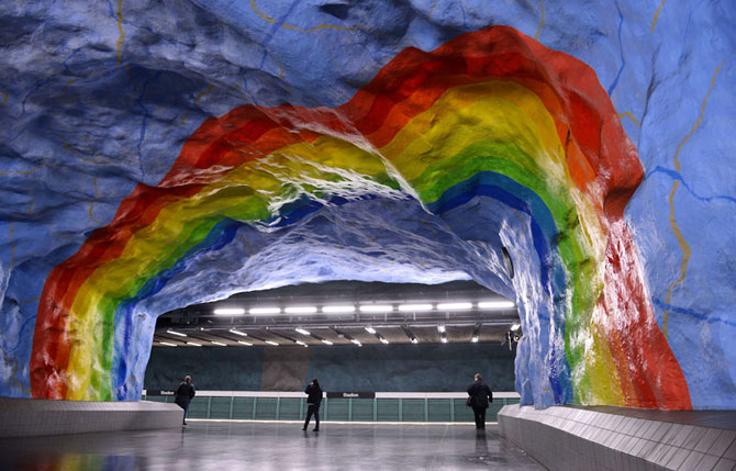 15 statii de metrou incredibile din intreaga lume - Poza 9