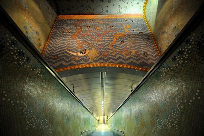 15 statii de metrou incredibile din intreaga lume - Poza 10