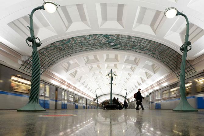 15 statii de metrou incredibile din intreaga lume - Poza 13