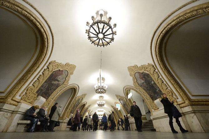 15 statii de metrou incredibile din intreaga lume - Poza 14