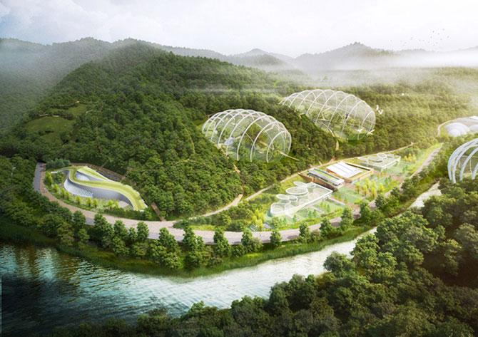 Concept: Centrul de cercetare pentru specii amenintate, Coreea de Sud - Poza 1