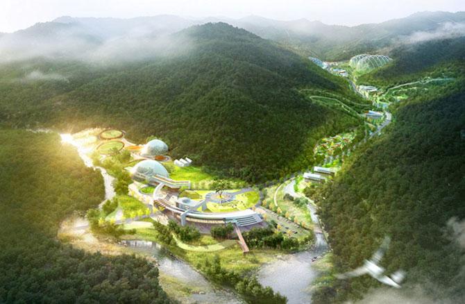 Concept: Centrul de cercetare pentru specii amenintate, Coreea de Sud - Poza 2