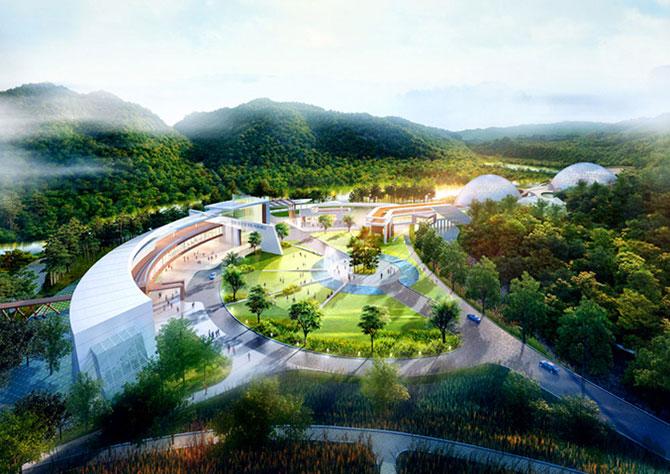 Concept: Centrul de cercetare pentru specii amenintate, Coreea de Sud - Poza 3