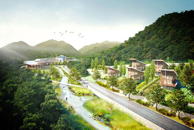 Concept: Centrul de cercetare pentru specii amenintate, Coreea de Sud - Poza 4