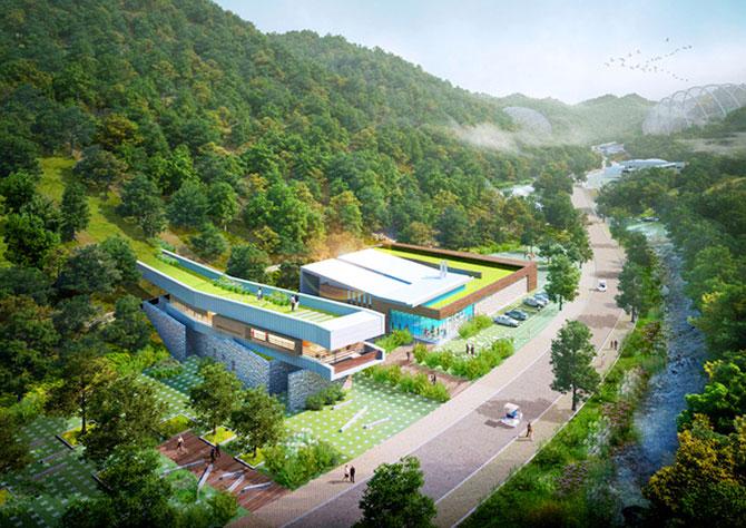 Concept: Centrul de cercetare pentru specii amenintate, Coreea de Sud - Poza 5