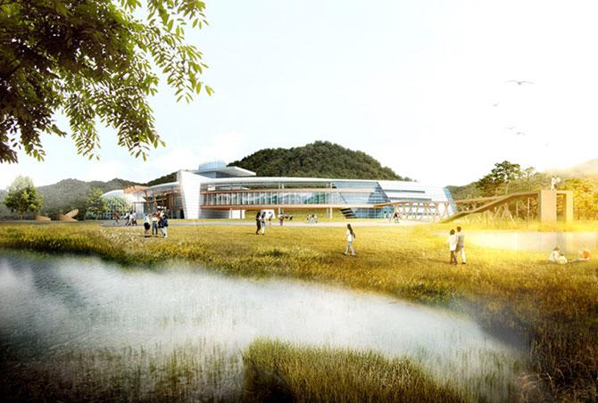 Concept: Centrul de cercetare pentru specii amenintate, Coreea de Sud - Poza 6