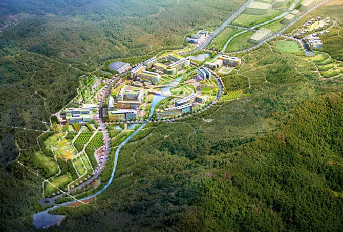 Concept: Centrul de cercetare pentru specii amenintate, Coreea de Sud - Poza 7