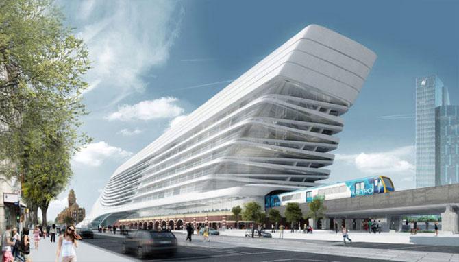 Centru de transport ultra-modern pentru Melbourne - Poza 1