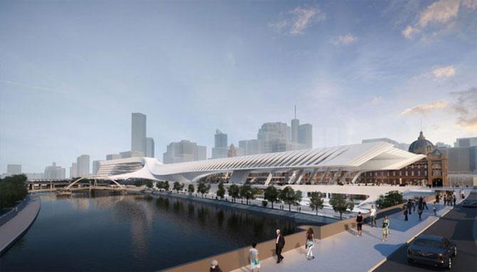 Centru de transport ultra-modern pentru Melbourne - Poza 2