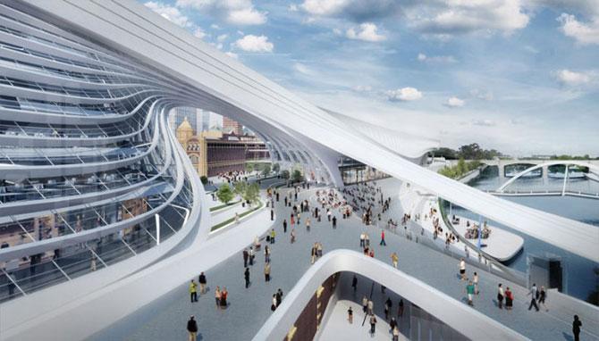 Centru de transport ultra-modern pentru Melbourne - Poza 4