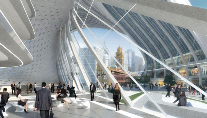 Centru de transport ultra-modern pentru Melbourne - Poza 5