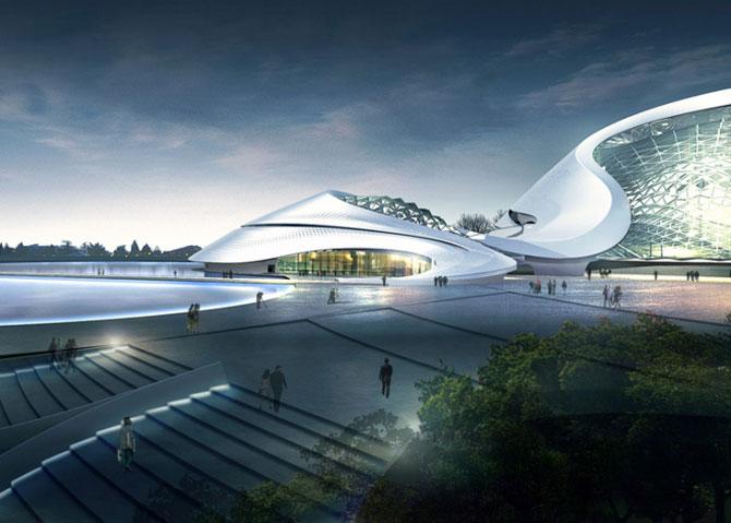 Design impresionant: Centrul cultural de la Harbin, China - Poza 1