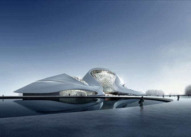 Design impresionant: Centrul cultural de la Harbin, China - Poza 2