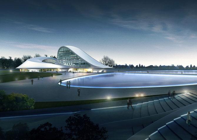 Design impresionant: Centrul cultural de la Harbin, China - Poza 3