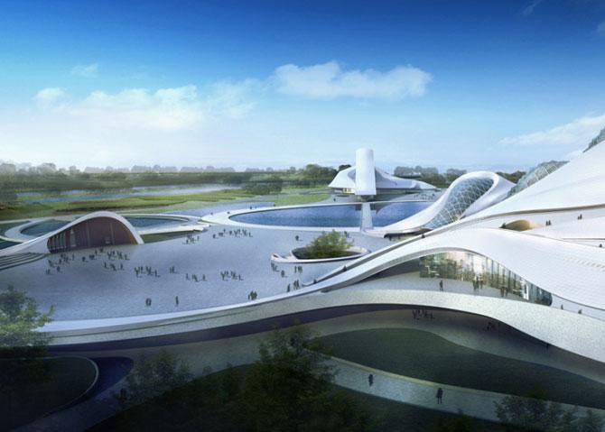 Design impresionant: Centrul cultural de la Harbin, China - Poza 4