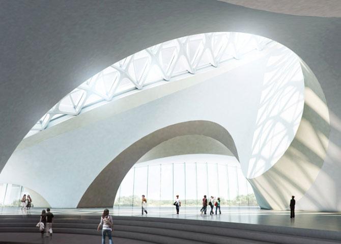 Design impresionant: Centrul cultural de la Harbin, China - Poza 5