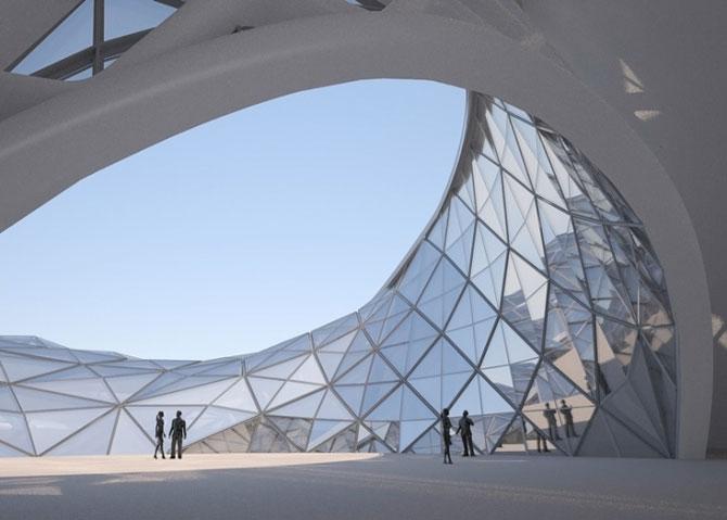 Design impresionant: Centrul cultural de la Harbin, China - Poza 6