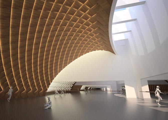 Design impresionant: Centrul cultural de la Harbin, China - Poza 7