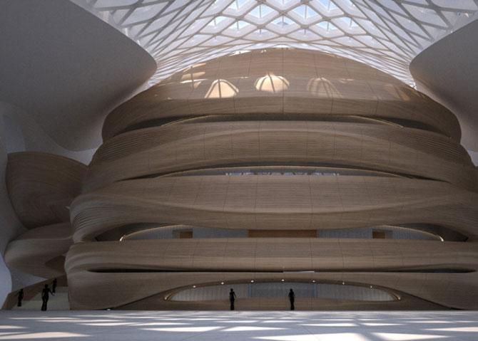 Design impresionant: Centrul cultural de la Harbin, China - Poza 8