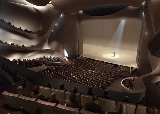Design impresionant: Centrul cultural de la Harbin, China - Poza 9