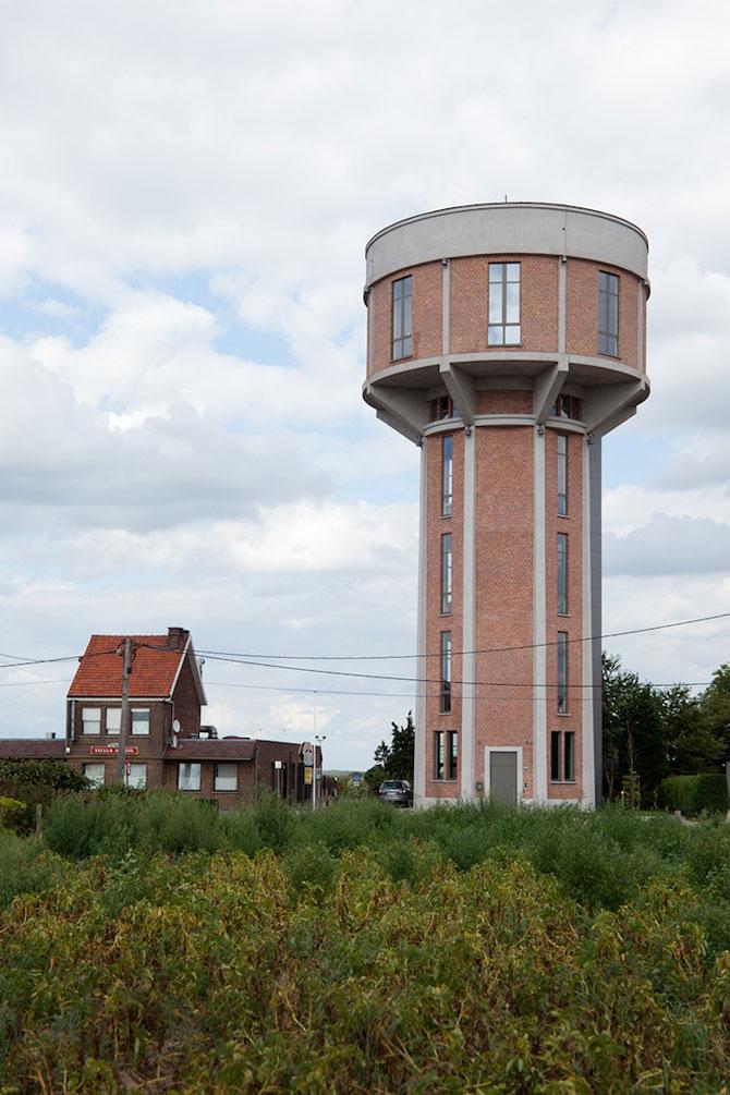 Casa intr-un turn de apa din Belgia - Poza 2