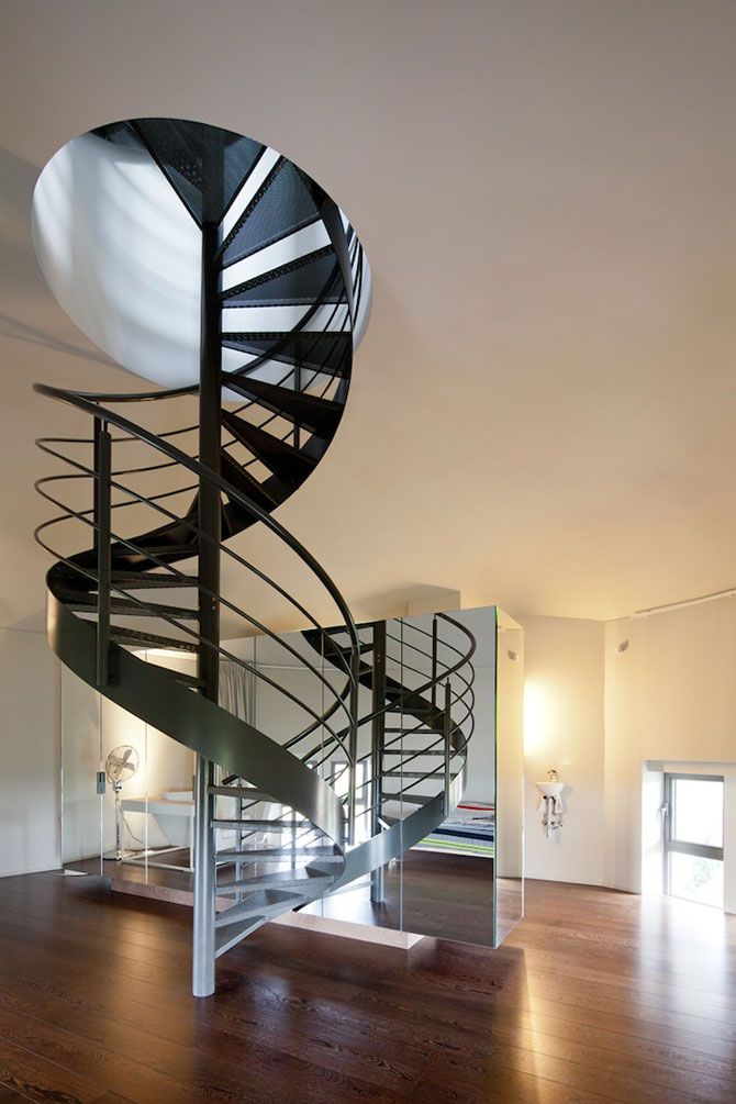 Casa intr-un turn de apa din Belgia - Poza 3