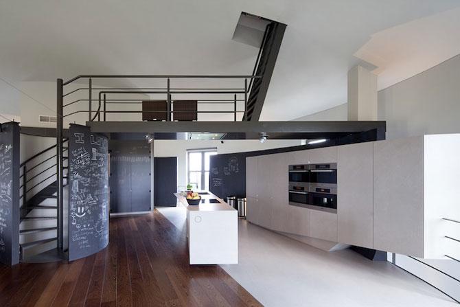 Casa intr-un turn de apa din Belgia - Poza 4