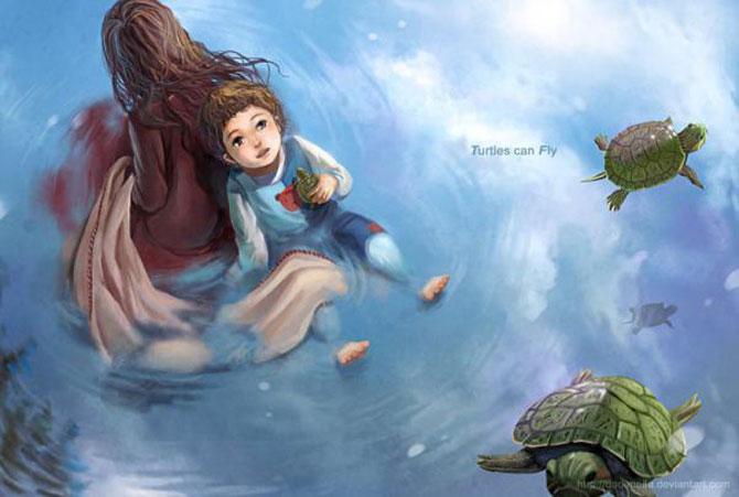 Ilustratii copii Melani Sie