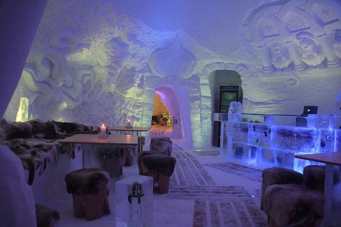 Hotelul de gheata cu chipuri sculptate in pereti - Poza 6