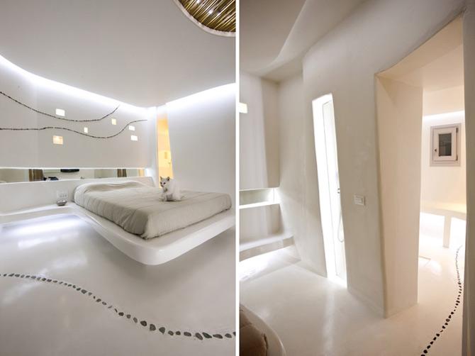 Vara greceasca in alb, amenajata de Klab Architecture - Poza 8