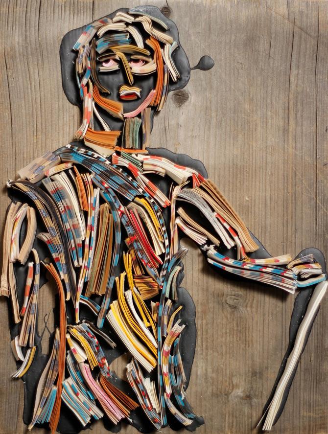 Portrete reciclate de Nick Georgiou - Poza 5
